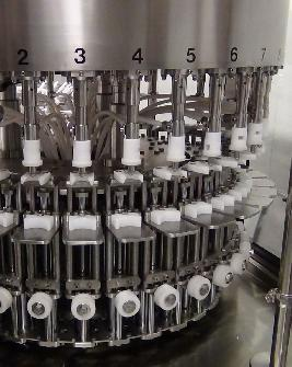 Gravity filling system