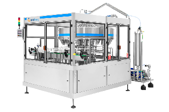 Electronic volumetric filling system